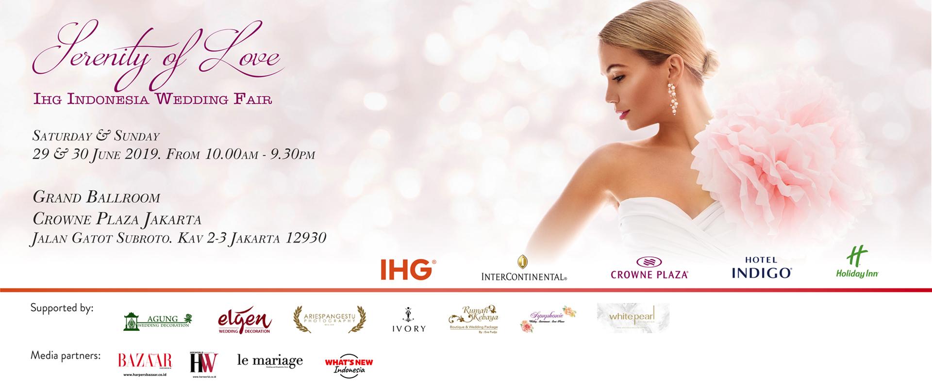 IHG Indonesia Wedding Fair