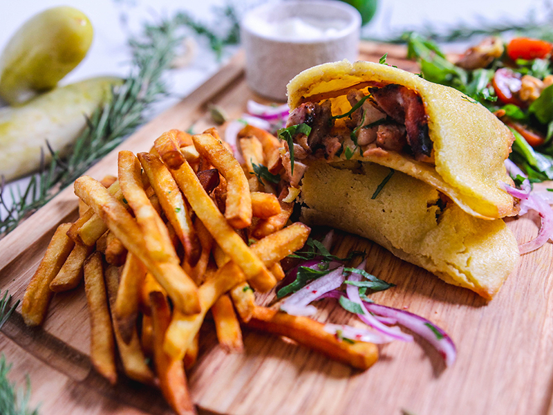 Katayef Shawarma