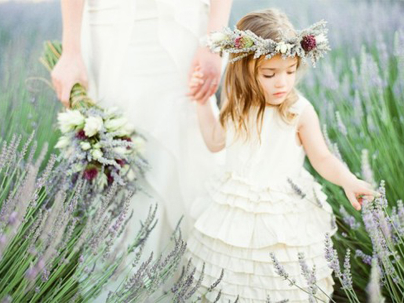 How to Treat Your Flower Girl