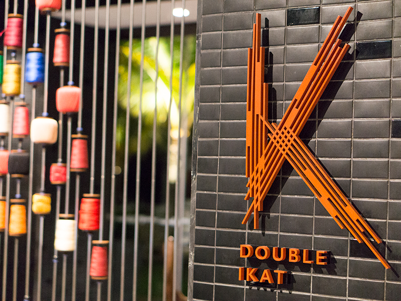 Double Ikat ; Upgrading Indonesian Cuisine to Highest Level