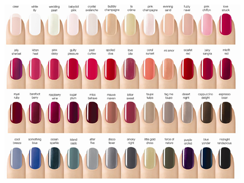 Choose Your Nail Colors