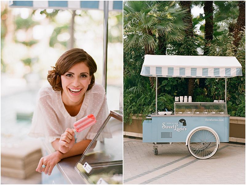 Gerobak Es Loli di Pernikahan Anda