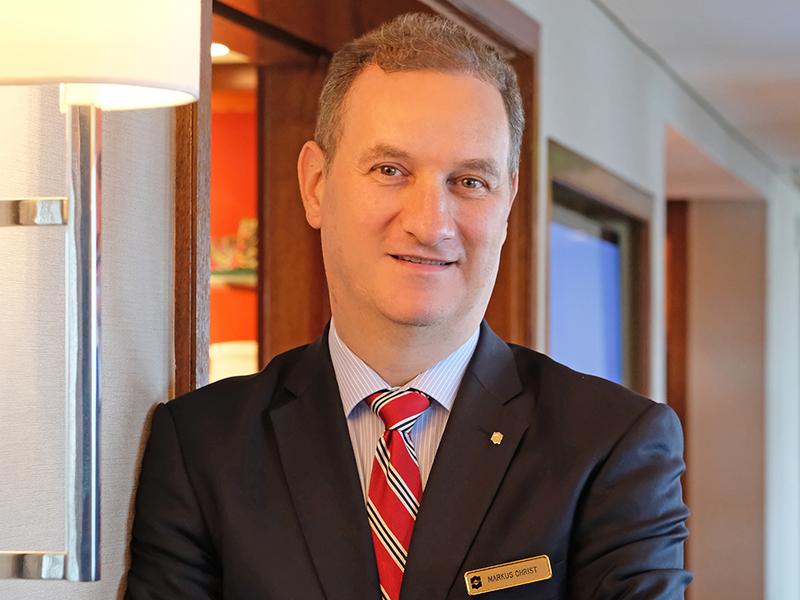 Shangri-La Hotel, Jakarta Memperkenalkan Markus Christ Sebagai General Manager