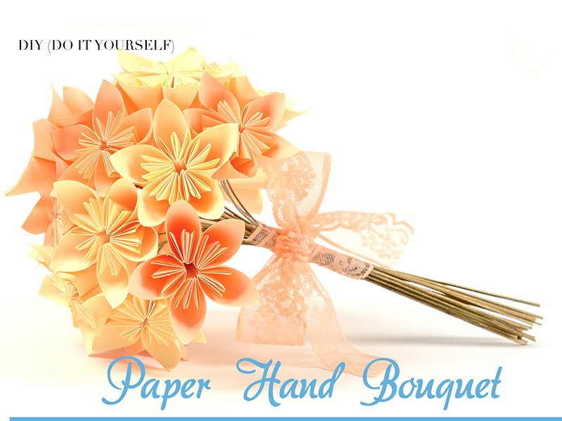 Paper Hand Bouquet
