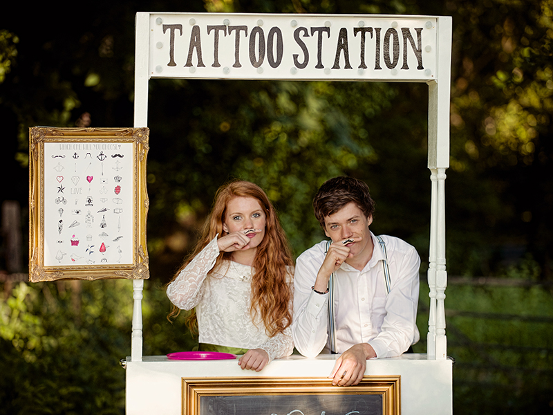 Unique Corner : Tattoo Station