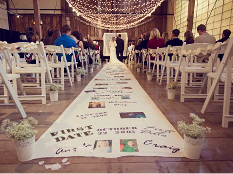 Wedding Carpet: Write It Down!