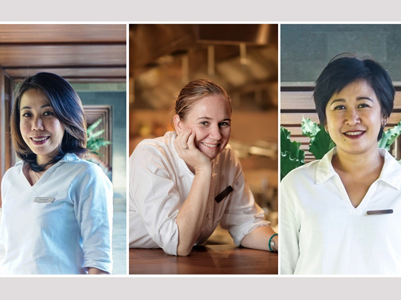 In The Power : Hyatt Regency Bali's board of directors includes three female members