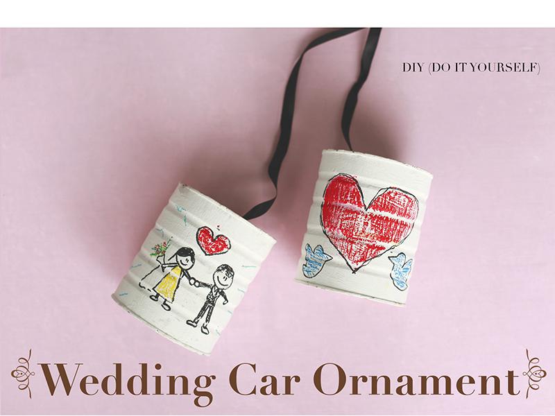 Wedding Car Ornamen