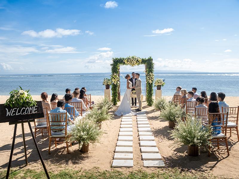 Beachfront Blessings : Perayaan Pesta Pernikahan di The Westin Resort Nusa Dua, Bali