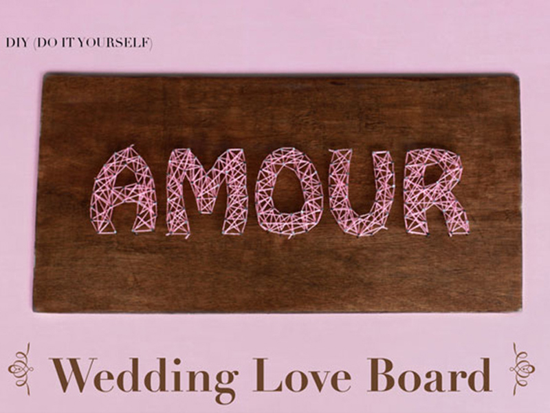 Wedding Love Board
