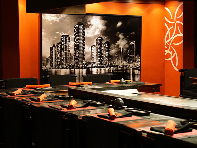 KO Restaurant, Teppanyaki, and Lounge : The Performance of the Art and Entertainment