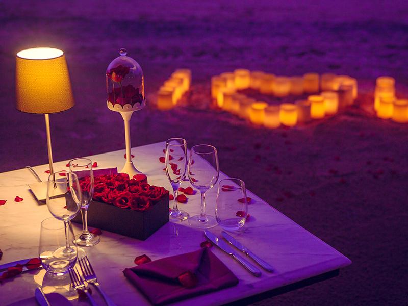 Valentine's Dinner in Meliá Bali