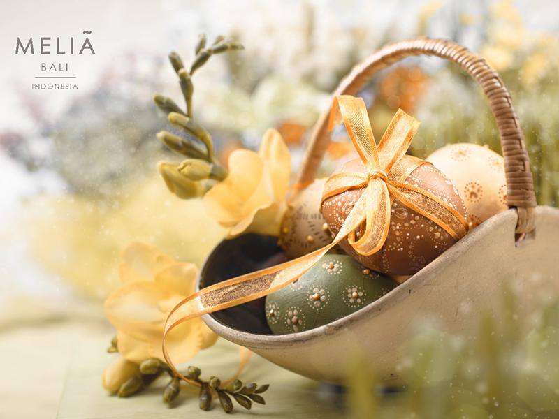 Enjoy Easter Family Gateway with Melia Bali
