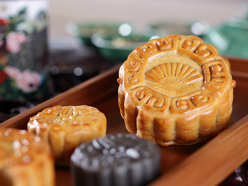 Mooncakes from Li Feng at Mandarin Oriental Jakarta