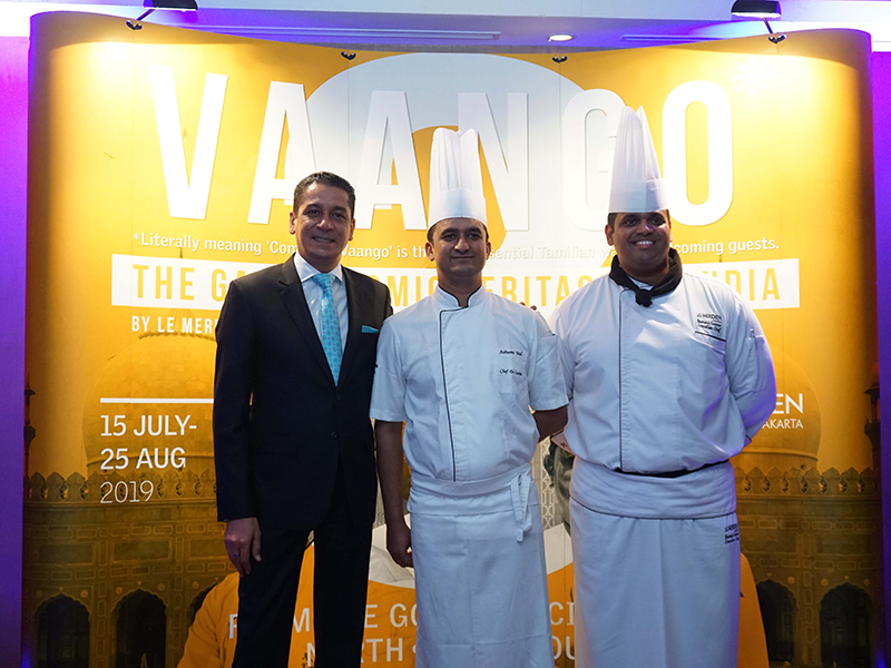Vaango - The Gastronomic Heritage Of India by Le Meridien Jakarta