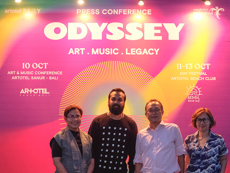 ARTOTEL Group Menutup ODYSSEY 2019 Dengan 'Day Festival' Selama Empat Hari di Bali