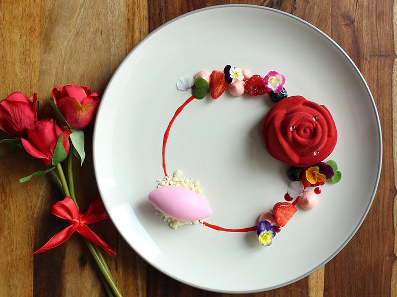 La Moda Valentine - Rose Dessert