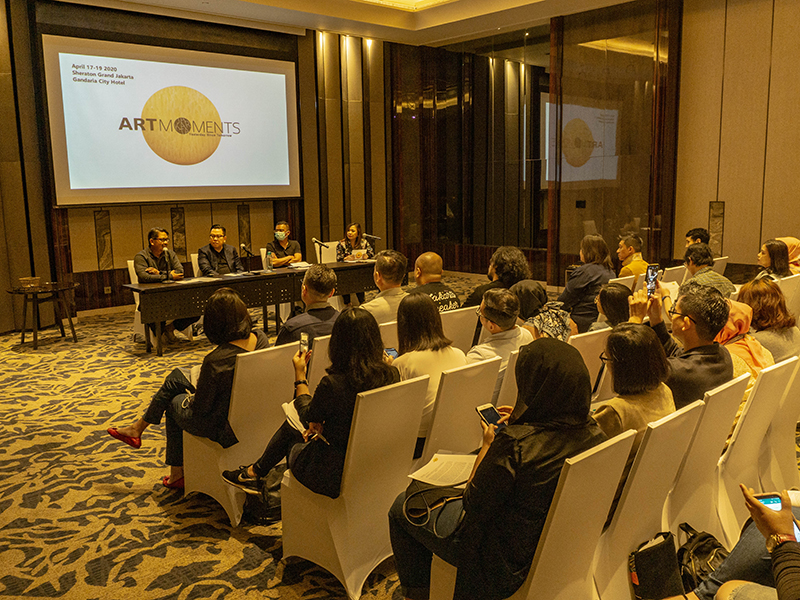 ART MOMENTS JAKARTA 2020 Kembali Hadir Dengan Menampilkan Karya Seni Terbaik dan Program – Program Menarik