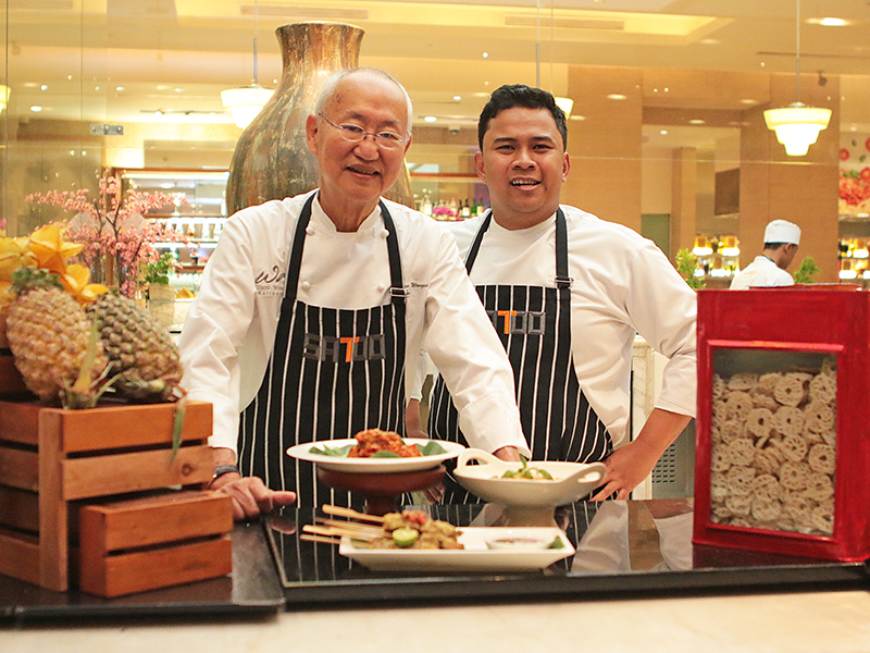 Shangri-La Hotel, Jakarta Merayakan Hari Kemerdekaan Indonesia Ke-73 Dengan Sajian Kuliner Dari William Wongso Dan Pameran Budaya Indonesia