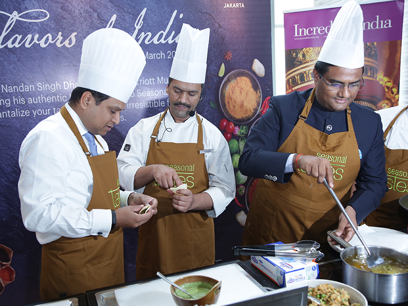 Flavors of India Food Festival at The Westin Jakarta bringing in Guest Chef from JW Marriott Mumbai