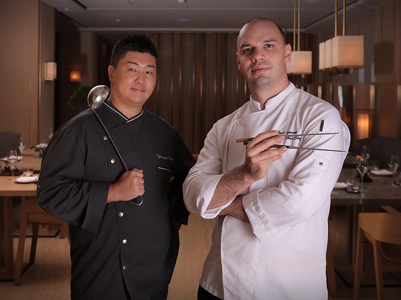 Chef Kazumasa Yazawa & Chef Cyril Jeannot