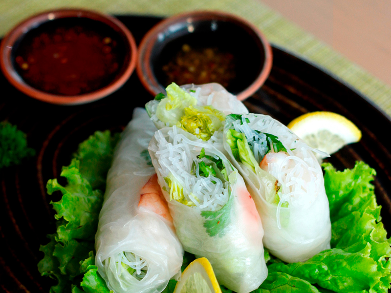 Fresh Vegetable Spring Roll
