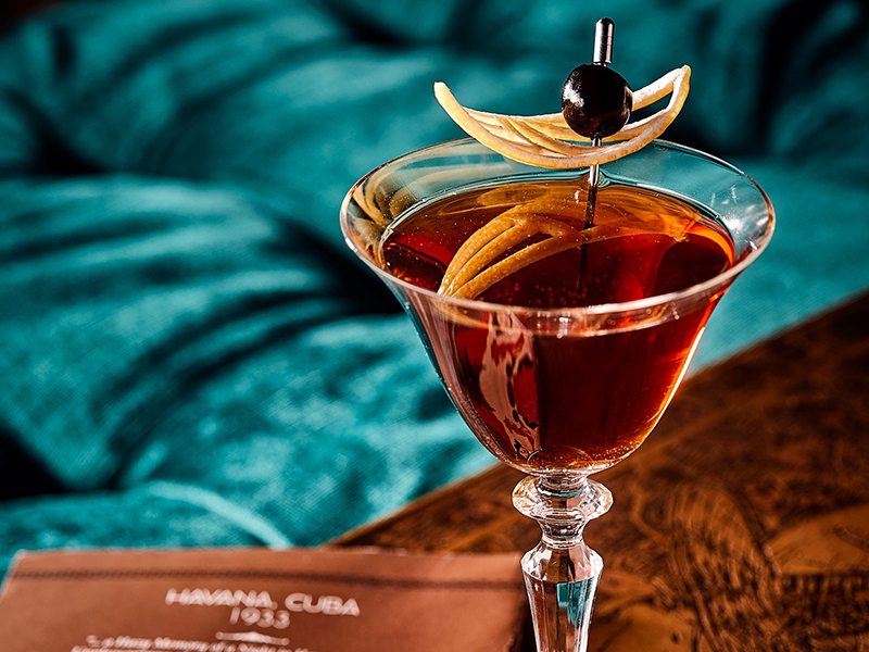 Signature Cocktail Charles H Bar