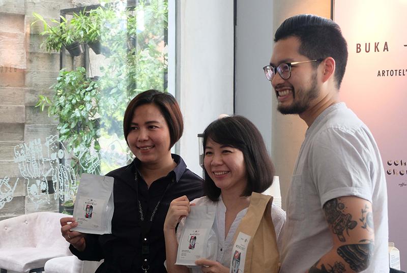 BUKA MATA, An ARTOTEL'S Signature Coffee Brand