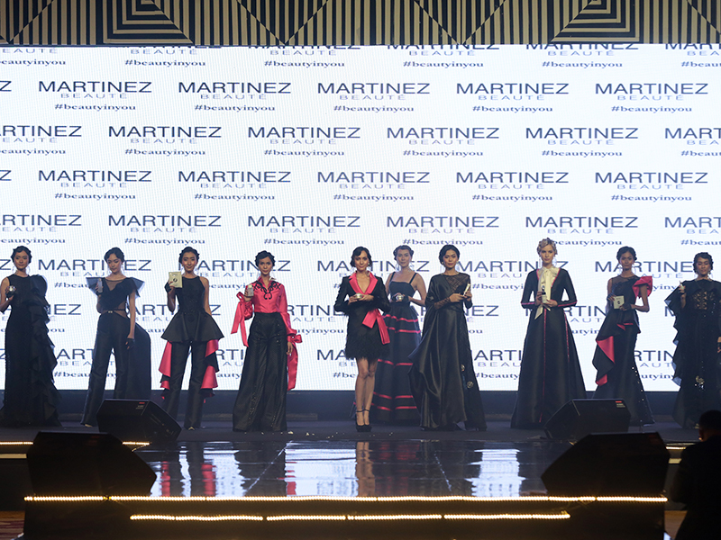 Launching Martinez Beauté