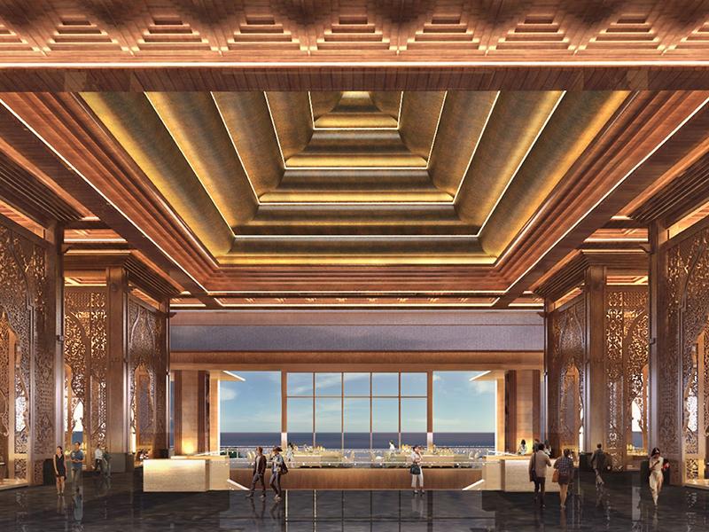 Kempinski Bali Lobby