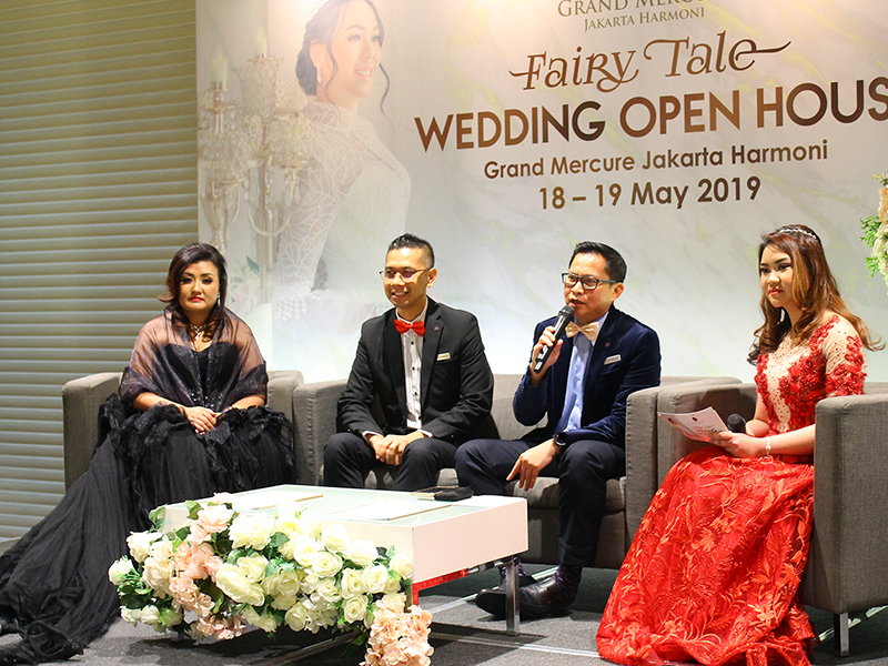 Grand Mercure Jakarta Harmoni Gelar : Wedding Open House Bertemakan Fairy Tale'