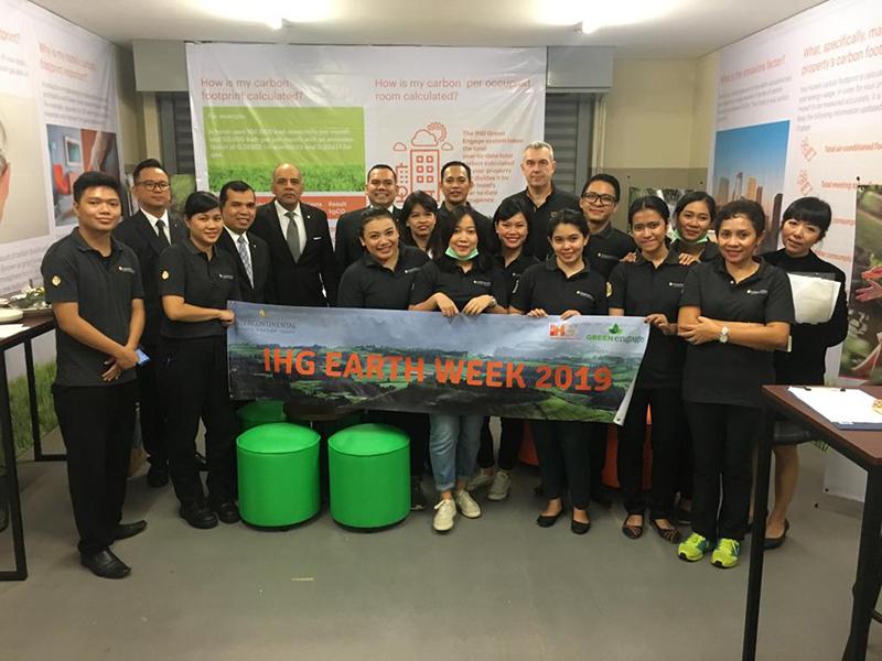 InterContinental Jakarta Pondok Indah Earth Week Booth