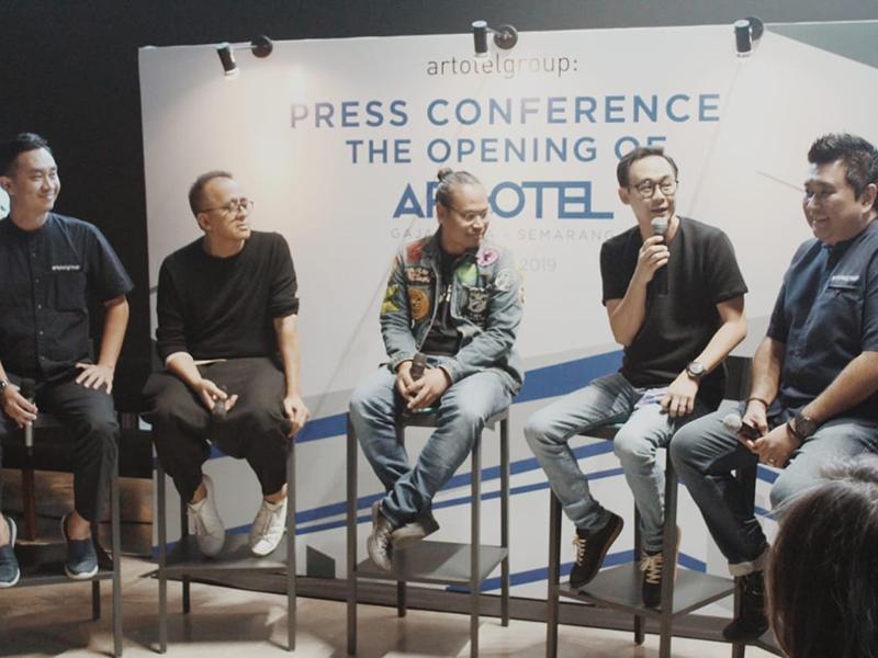 ARTOTEL Gajahmada – Semarang Resmi Beroperasi Menampilkan Arsitektur Karya Andra Matin dan Mural Eko Nugroho