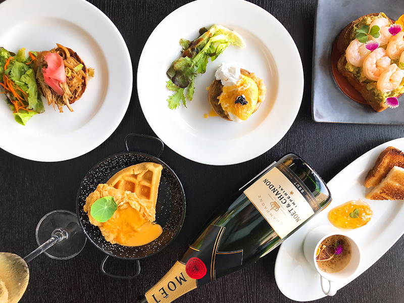 The New Look of Champagne Brunch at Bengawan Keraton di The Plaza Jakarta's