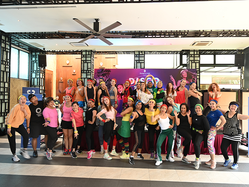 Shangri-La Hotel, Jakarta Celebrates World Wellness Weekend 2019 With Disco Zumba