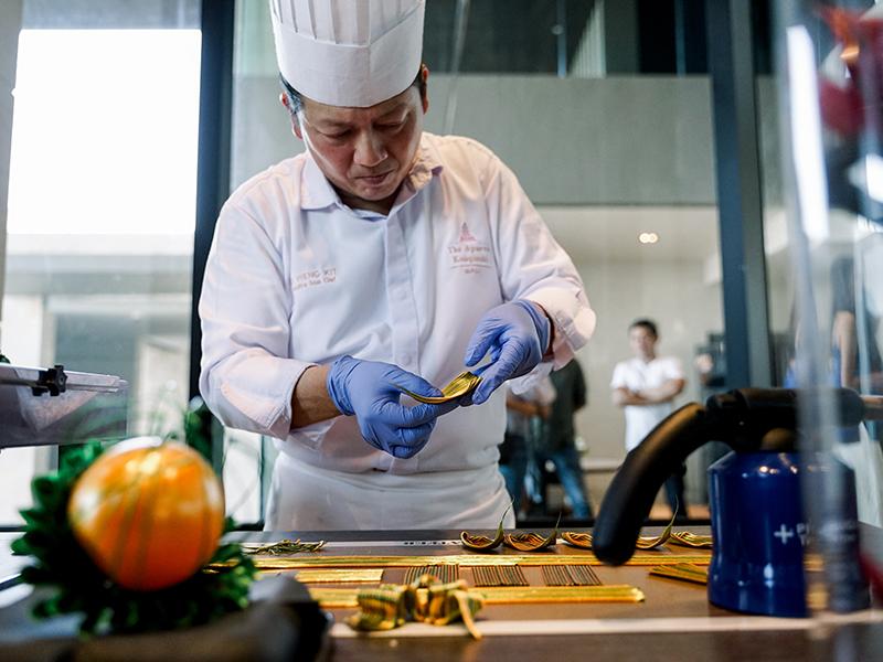 Chef Ho Weng Kit Curated Dish of The Apurva Kempinski Bali