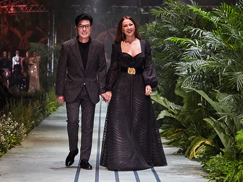 Seabstian Gunawan dan Cristina Panarese
