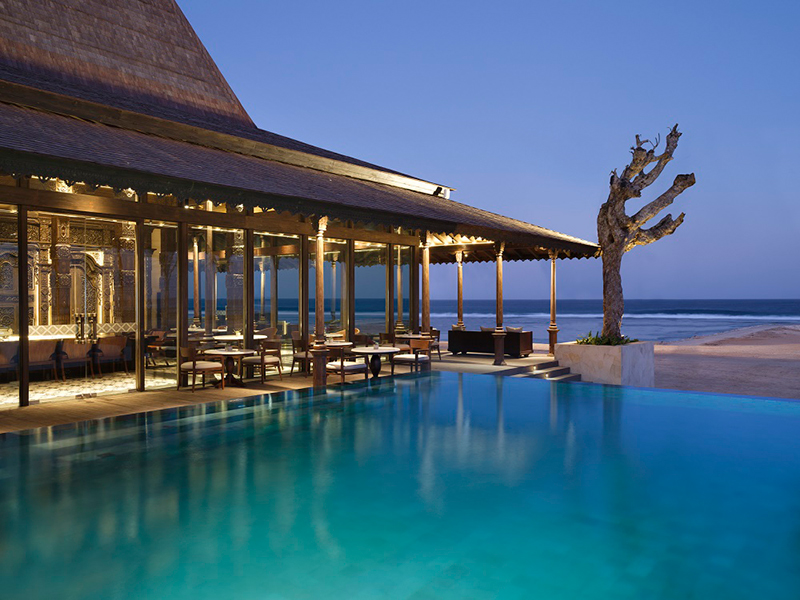 Reef Beach Club at The Apurva Kempinski Bali