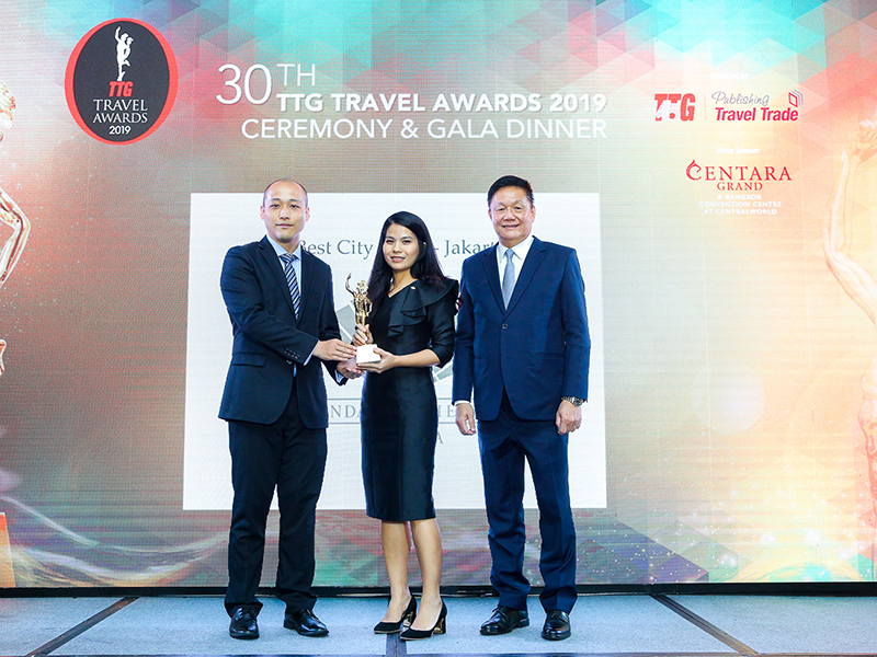 Mandarin Oriental, Jakarta Awarded The Best City Hotel In Jakarta by TTG Travel Awards 2019