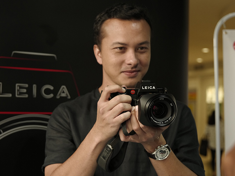 Nicholas Saputra Leica Friends of The Brand