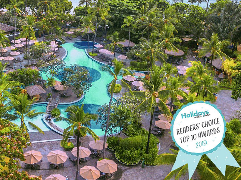 Meliá Bali Recently Awarded as Top 10 Best Family Resorts in Indonesia