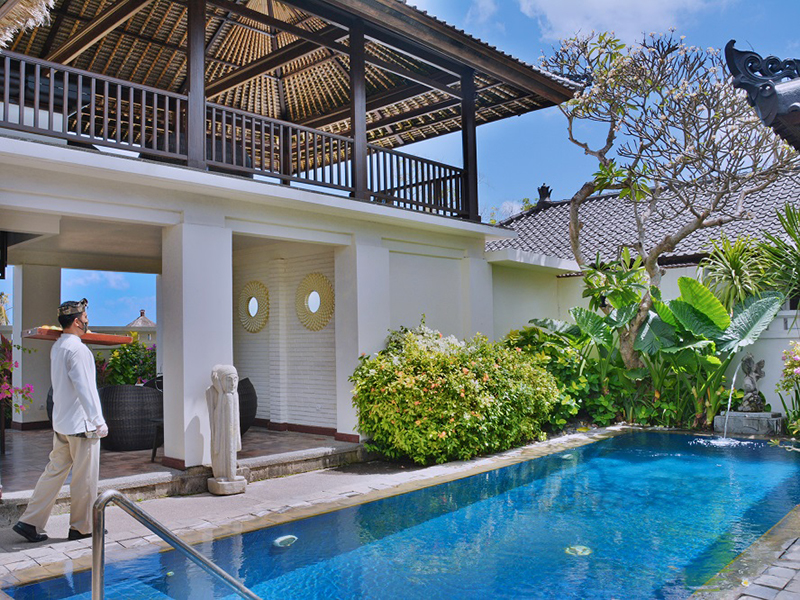 Rediscover Luxury Tropical Bliss at Sanctuary Villa of InterContinental Bali Resort
