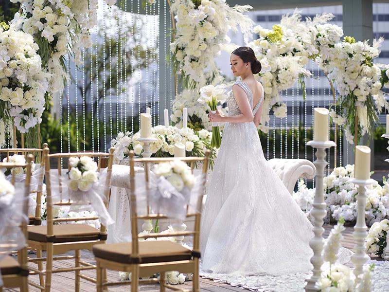Mandarin Oriental Jakarta Azure Wedding