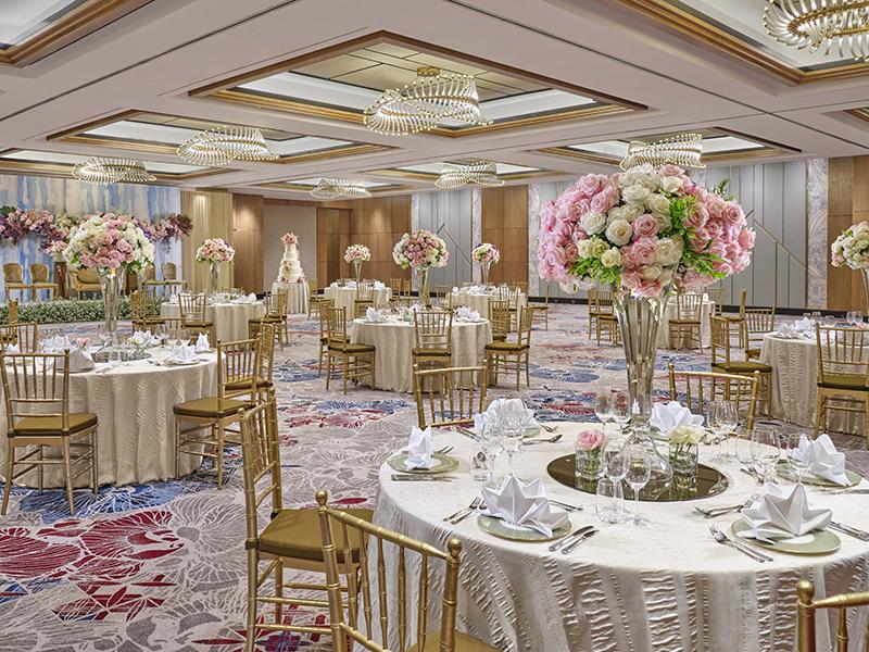 Mandarin Oriental Jakarta Ballroom Wedding