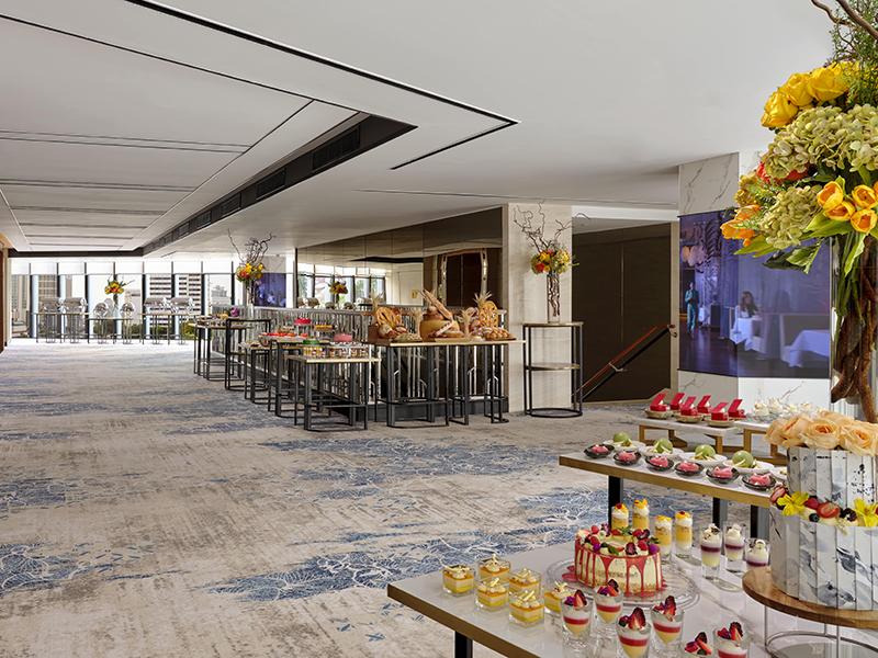 Mandarin Oriental Jakarta Ballroom Foyer