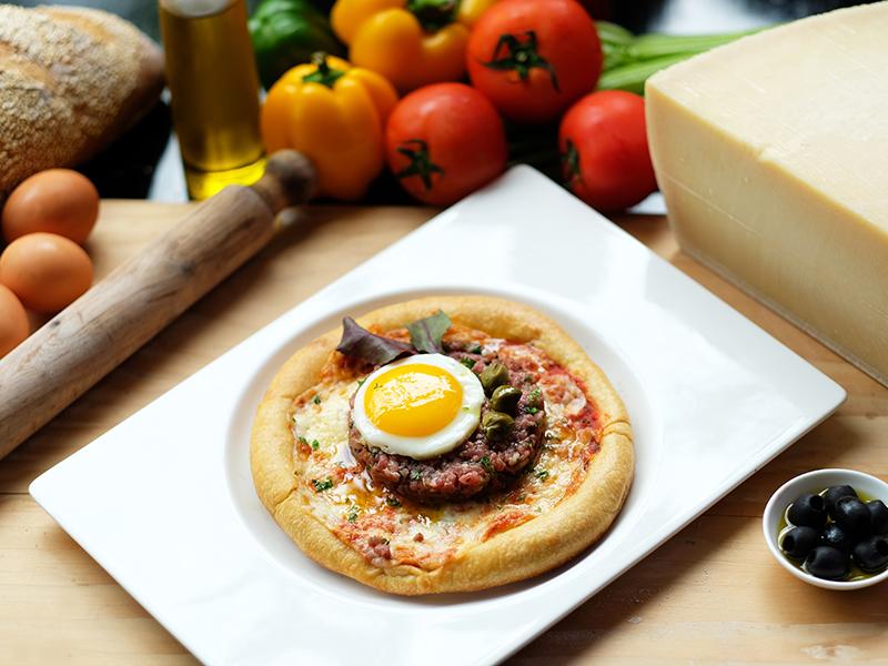 Pizza Tartare di Manzo