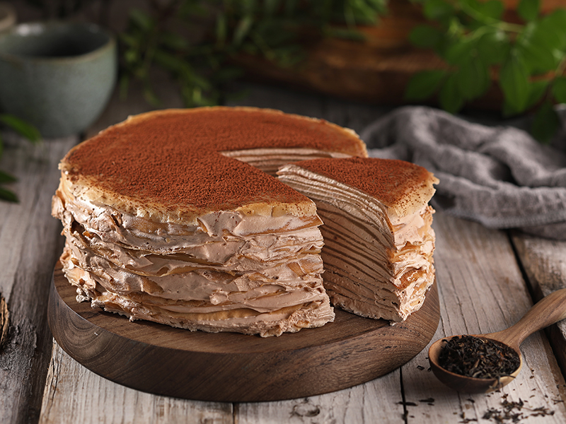 Earl Grey Mille Crepes