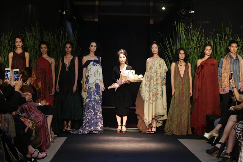 Yanny Tan : Nature's Poetry Couture Collection 2018